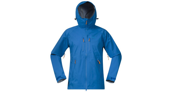 Bergans M's Eidfjord Jacket Athens Blue/Light Winter Sky/Pumpkin